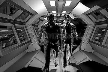 CGI Visualisierung: Invasion