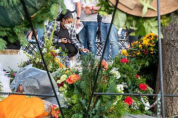 Gedenkveranstaltung zum 5 Jahrestag des Terroranschlags in München
