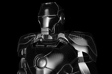 CGI Visualisierung: Iron Man