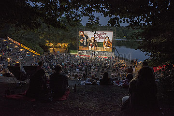 Kino Open-Air im Muenchener Westpark  21. Juli 2021