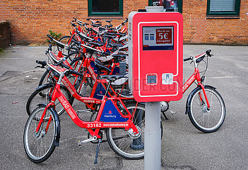 StadtradHamburg  Fahrradverleih  Hamburg  Deutschland  Europa