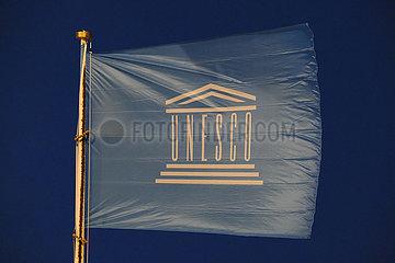 Deutschland  Bremen - UNESCO-Fahne