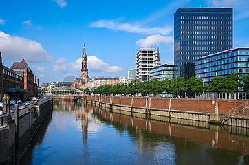 Speicherstadt  Hamburg  Deutschland  Europa