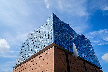 Elbphilharmonie Hamburg  Deutschland  Europa