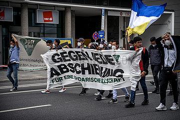 München: Demonstration gegen Abschiebungen