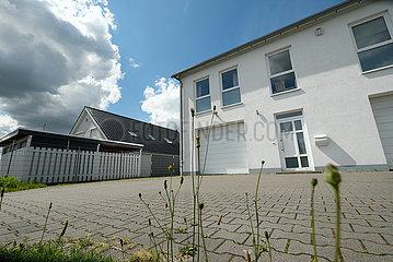 Deutschland  Stuhr - Sitz des Landesverbands der Bremer AfD in einem Gewerbegebiet im Umland von Bremen