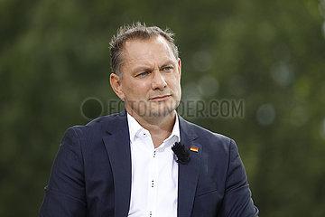 Tino Chrupalla - ARD-Sommerinterview mit dem AfD-Bundessprecher  8. August 2021