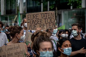 Zentraler Klimastreik in Frankfurt