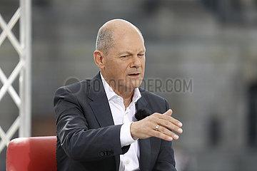 Olaf Scholz - ARD-Sommerinterview mit dem SPD-Kanzlerkandidaten  15. August 2021