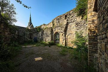 Burg Wetter  Wetter an der Ruhr  Ruhrgebiet  Nordrhein-Westfalen  Deutschland