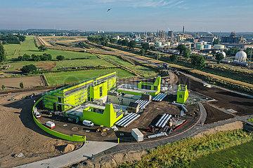 Neubau Pumpwerk Oberhausen  Emscherumbau  Neubau Abwasserkanal Emscher  Ruhrgebiet  Oberhausen  Nordrhein-Westfalen  Deutschland