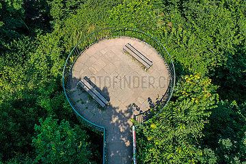 Gethmanns Garten  Blankenstein  Hattingen  Ruhrgebiet  Nordrhein-Westfalen  Deutschland