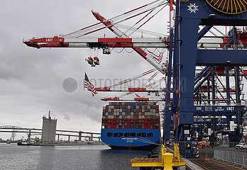 US--LONG BEACH-PORT-NEW CONTAINER TERMINAL