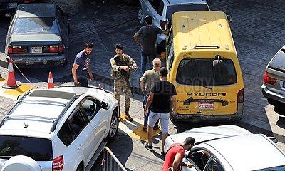 LEBANON-BEIRUT-FUEL SHORTAGE