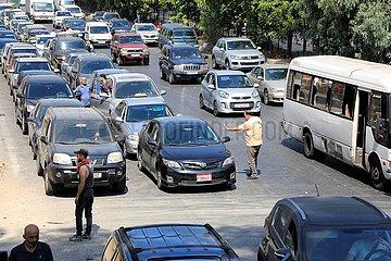 LIBANON-BEIRUT-Treibstoffmangel