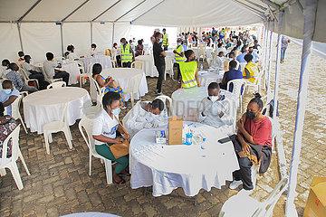 Ruanda-Kigali-Covid-19-Impfung