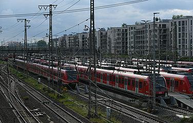 Deutschland-Frankfurt-Zug-Treiber-Streik Deutschland-Frankfurt-Train-Treiber-Strike