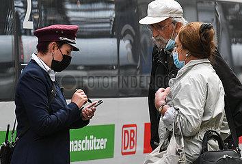Deutschland-Frankfurt-Zug-Treiber-Strike