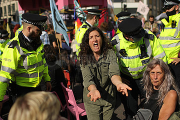 BRITAIN-LONDON-CLIMATE CAMPAIGN GROUP-PROTEST