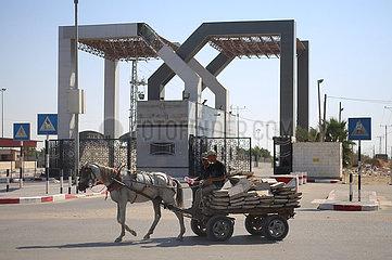 MIDEAST-GAZA-RAFAH-BORDER CROSSING-CLOSED