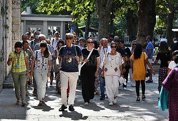 TURKEY-ISTANBUL-TOURISM