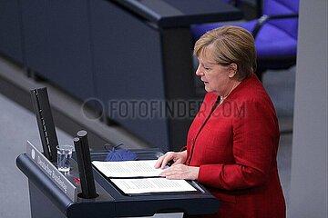 Bundeskanzlerin Angela Merkel am 25.08.2021