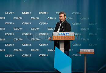 Markus Söder beim Wahlkampfauftakt der CSU