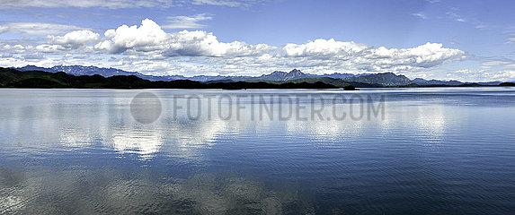 China-Peking-Miyun-Reservoir-Wasser-Speicher-neuer Höhe (CN)