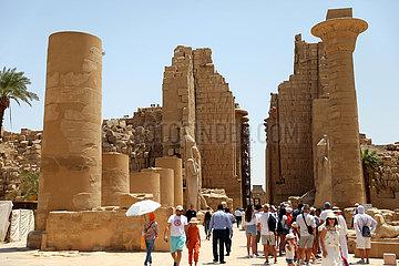 Ägypten-Luxor-Covid-19-Tourismus