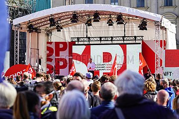 Deutschland-Berlin-SPD-Rallye
