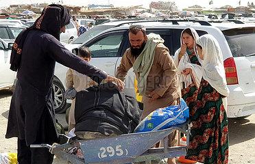 Pakistan-Chaman-Afghanistan-Grenz-Evakuierung