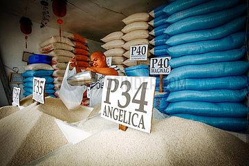Reisverkauf auf der Stra?e