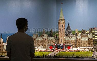 Kanada-Toronto-Little Canada-Ausstellung