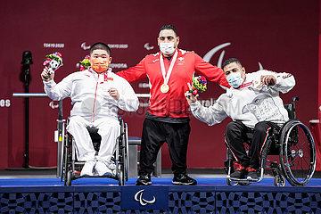 (Tokyo2020) Japan-Tokyo-Paralympics-PowerLifting-Herren -88kg-Finale