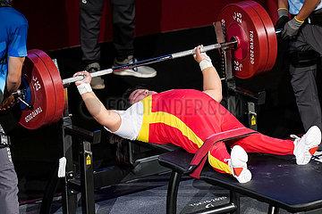 (Tokyo2020) Japan-Tokyo-Paralympics-PowerLifting-Damen -73kg-Finale