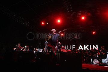 Türkei-Ankara-Covid-19-Live-Musik