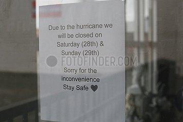 U.S.-Louisiana-New Orleans-Hurrikan IDA