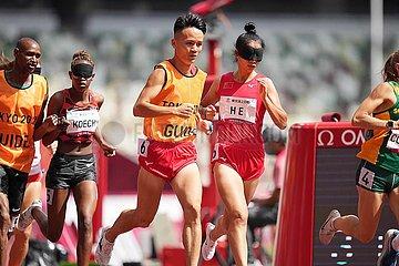(Tokyo2020) Japan-Tokyo-Paralympics-Athletics-Damen 1500m-T11-Finale