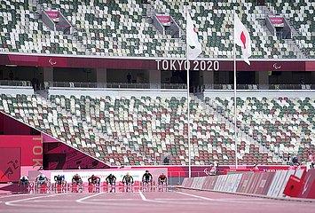 (Tokyo2020) Japan-Tokyo-Paralympics-Leichtathletik-Herren 100m-T34-Finale