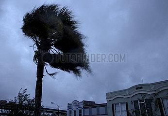 U.S-Louisiana-Morgan-Stadt-Hurrikan Ida
