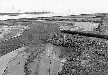VEB Leuna  Chemiekombinat  Umweltzerstoerung  April 1990  DDR