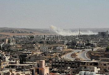 Syrien-Daraa-Spannung