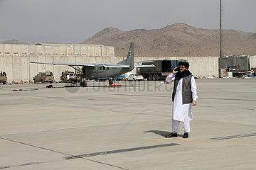 Afghanistan-Kabul-Airport-U.S. Entzug-Taliban Afghanistan-Kabul-Airport-U.S. Auszahlungs-Taliban
