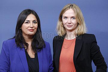 Bundespressekonferenz zum Thema: Hybrid-Pressekonferenz: H?WAR.help  Centre for Feminist Foreign Policy / DEFEND AFGHAN WOMEN?S RIGHTS