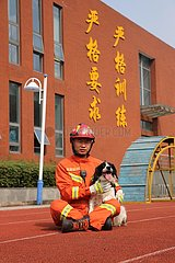 China-Jiangsu-Nanjing-Rettungshund (CN)