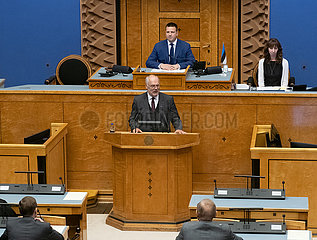 Estland-Tallinn-Präsidentschaftswahlen