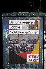Protest Lobbismus