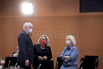 Svenja Schulze  Christine Lambrecht  Kabinett