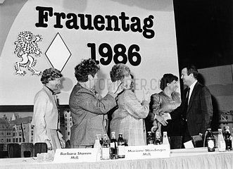 CSU Frauentag 1986