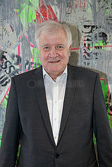 Horst Seehofer im Pressegespräch